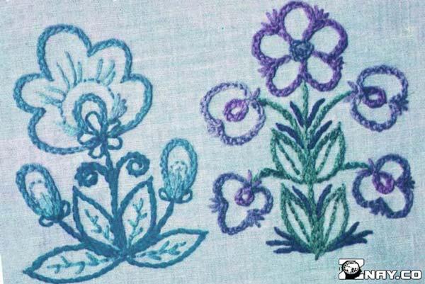 Узор в виде цветка