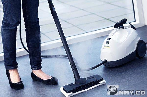 Влажная уборка моющим пылесосом