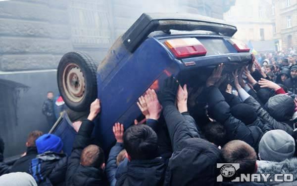Протесты и демонстрации в Украине