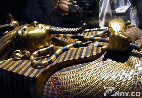 Гробница фараона: саркофаг