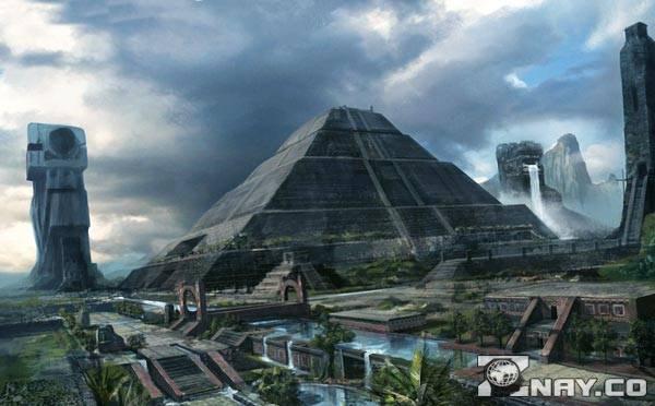 Древнее поселение Майя