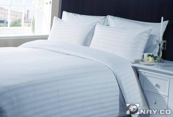 Белая ткань для постельного белья