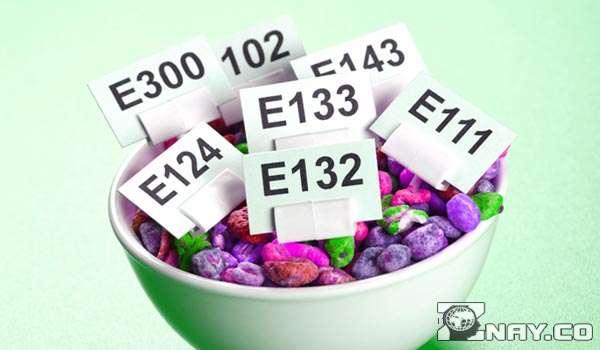 Все ингредиенты с маркировкой Е