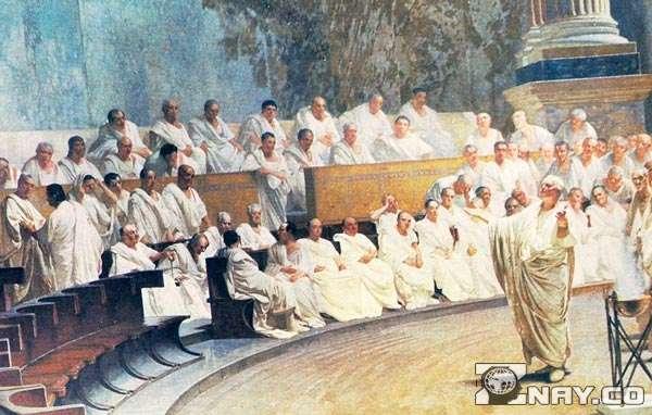 Римское право в коллизее