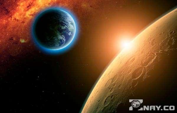 Земля и Марс - сравнение