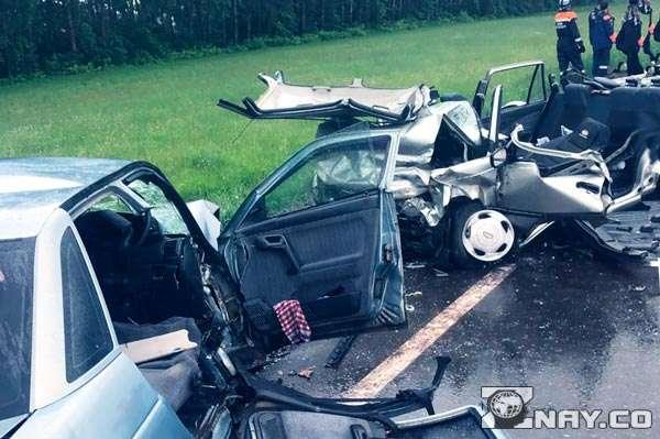 Смертельная авария на шоссе