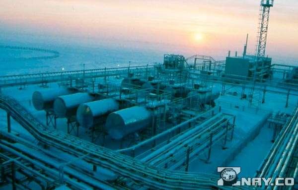 Месторождения газа - завод
