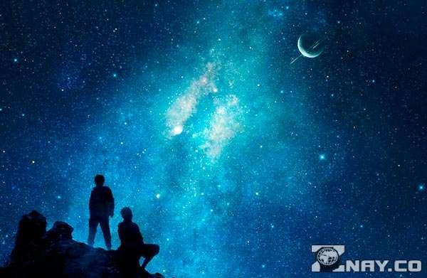 Звезды очень далеко от Земли