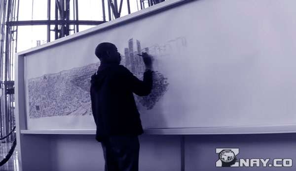 Гениальный художник запоминает мельчайшие детали