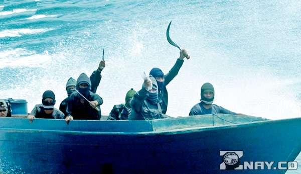 Русские флибустьеры на лодке