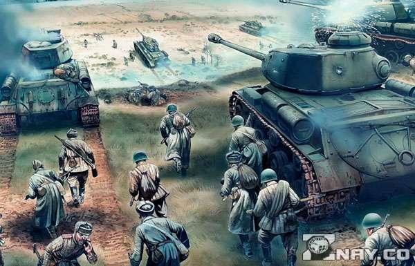 Боевые действия с танками