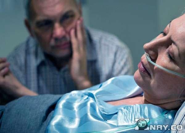 У женщины клиническая смерть