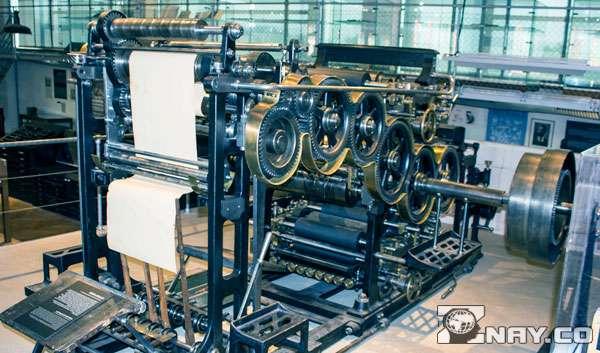 Печатный станок для книг