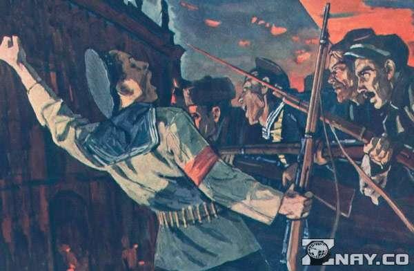 Октябрьское восстание 1917