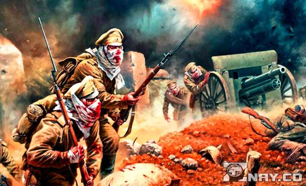 Сражение в Первой Мировой