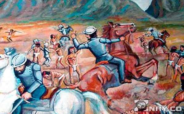 Битва с ацтеками