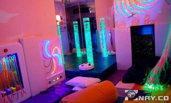 Самодельная сенсорная комната