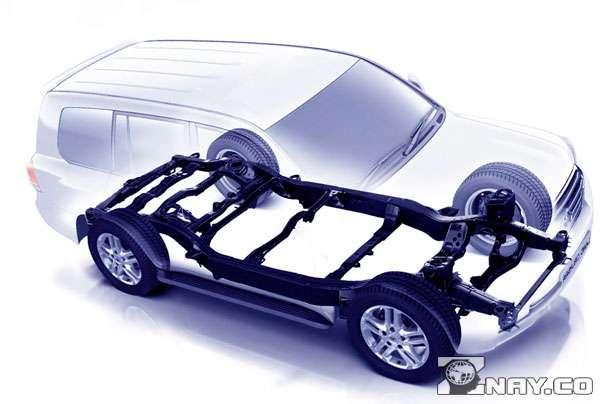 Конструкция рамного автомобиля