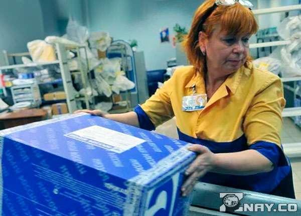 Хамовитый работник почты России