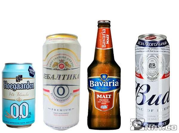 Топ самого безалкогольного пива