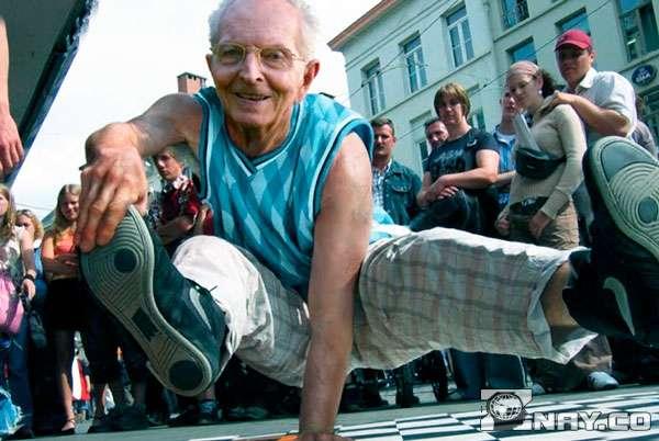 Старый танцор