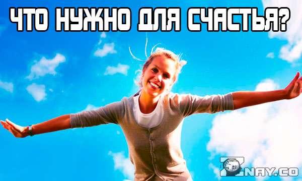 Что нужно для счастья?