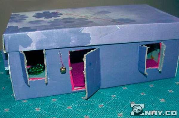 Дом из обувной коробки