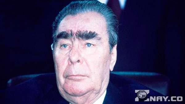 Брежнев и его монобровь