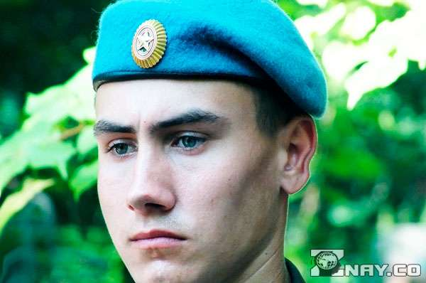 Голубой берет в армии