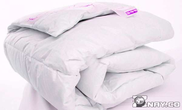 Светлое синтепоновое одеяло