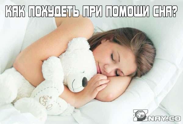 Спит и худеет