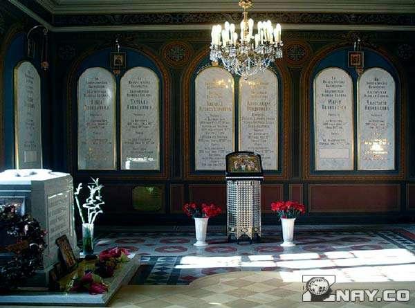 Мощи в Петропавловском соборе