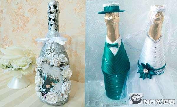 Бутылки на юбилеи свадьбы