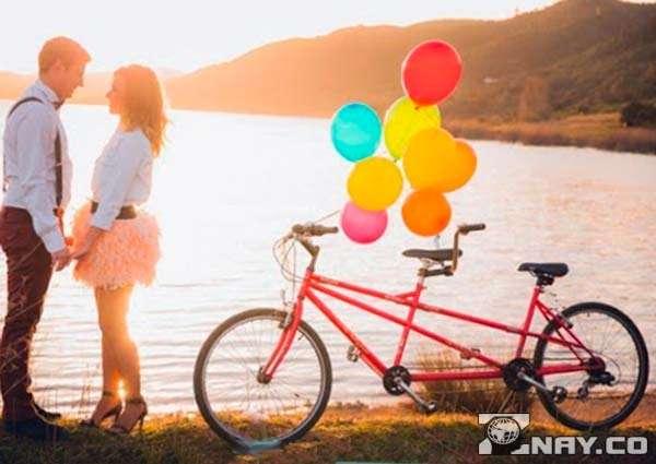 Велосипед для молодоженов