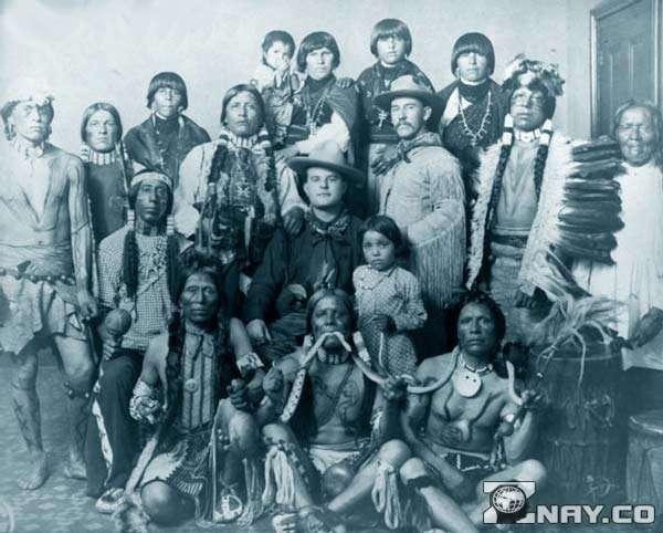 Старинное племя Америки