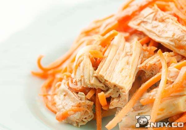 Салат из фучжу по-корейски