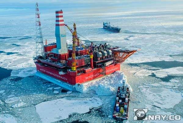 Нефтяная добыча на северном полюсе