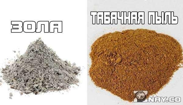 Зола и табак - состав препарата