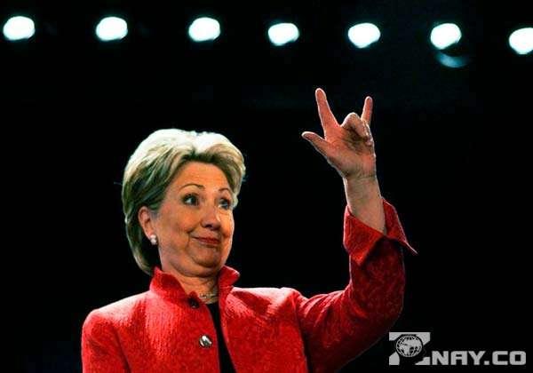 Клинтон и ее коза