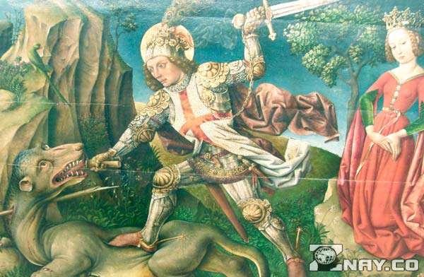 Георгий Победоносец побеждает Змея