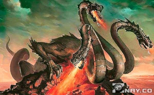 Христианский змей Горыныч