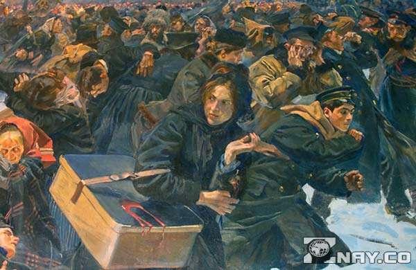 Январь 1905 - подавление восстания