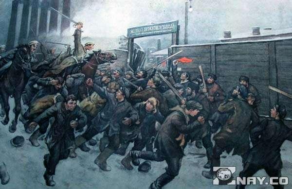 Кровавая трагедия 1905
