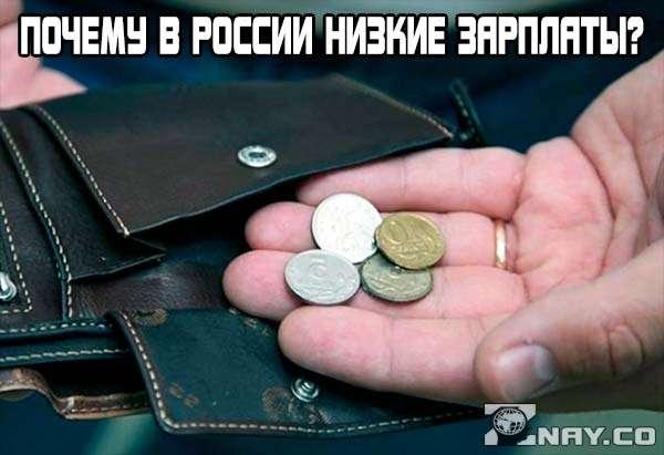 Почему в России маленькие зарплаты?