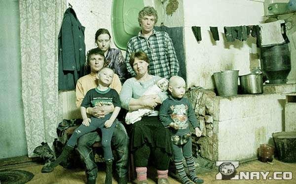 Семья с бедной жизнью