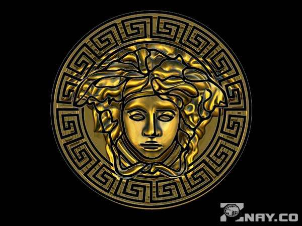 Оригинал логотипа Версаче