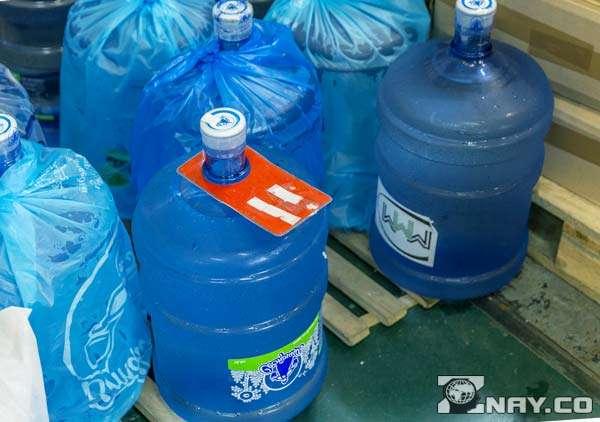 Бутыли 19 л с питьевой водой
