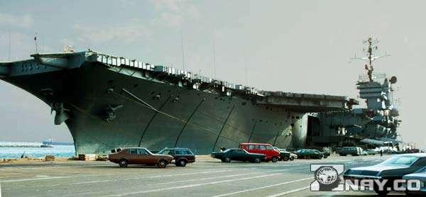 USS America перед уничтожением