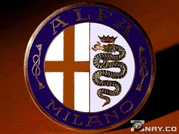 Первый символ 1909 года ALFA