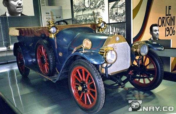 Первый автомобиль Alfa Romeo 24 HP